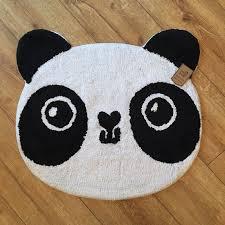 panda kawaii rug
