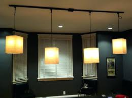Track Light Pendant Kitchen Rustic Track Lighting Plug Pendant Light Hanging Led Kits
