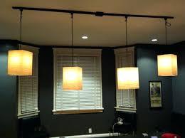 kitchen pendant track lighting fixtures tension wire light