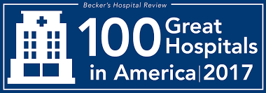 100 great hospitals in america 2017