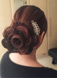 hair flower wedding bridal hair tutorial hair flower