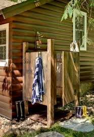 Outdoor Shower Enclosure Camping - well other than having to get another curtain motelcamper u0027s
