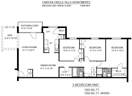 1 bedroom apartments in fairfax va 3 bedroom apartments with den in fairfax va fcva