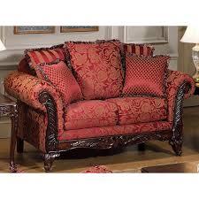 serta tai victorian style loveseat and sofa set dcg stores