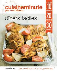 livre cuisine minute dîners faciles lewis marabout cuisine