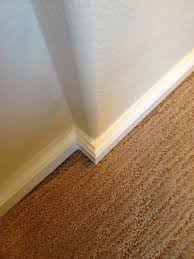 square baseboard rounded bullnose corners trim work