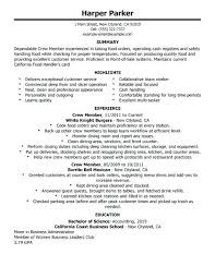 food service resume restaurant resume objective food server resume professional