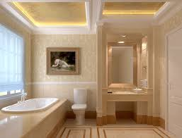 bathroom luxurious small bathroom traditional pattern wallpaper