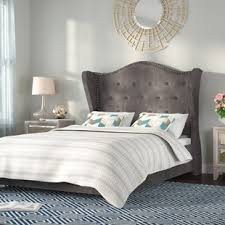 Suede Bed Frame Suede Beds You Ll Wayfair