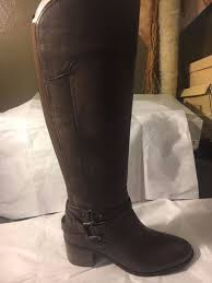 s shoes and boots size 9 size 9 marc fisher kacee black leather knee high boots