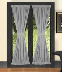 Light Silver Curtains Light Silver Door Curtains