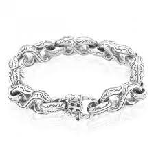link men silver bracelet images Scott kay sterling silver unkaged large s link men 39 s bracelet jpg