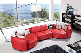 red leather sectional u2013 massagroup co
