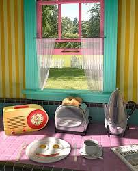 Mexican Kitchen Curtains by 1940s Kitchen Design