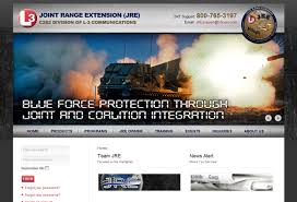 defense and aerospace web design