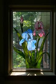 Flower Glass Design Lancaster Stained Glass Designs Yes I Put It In Quilts Great