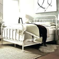 King Metal Headboard White Rod Iron Headboard King Iron Headboard King Black Iron