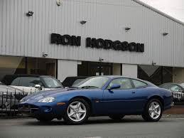 used 1997 jaguar xk8 v8 coupe antiga blue with ivory leather