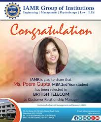 congratulation poster congratulations iamrians on ms poem gupta s placement in