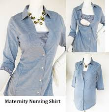 nursing top shirt maternity clothes nursing tops