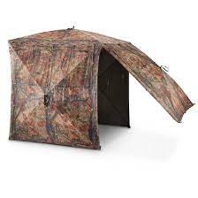tent chair blind guide gear silent adrenaline blind 663619 ground blinds