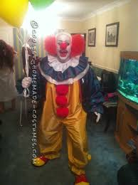 party city halloween clown costumes pennywise the it clown scary clown costume halloween