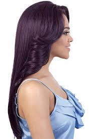 curl in front of hair pic hbsl dory motown tress human hair blend swiss silk lace front