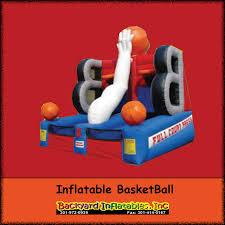inflatable basketball game backyard inflatables