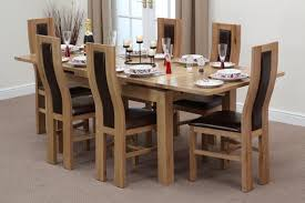 Wood Dining Room Sets - Solid dining room tables