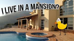 i live in a mansion youtube