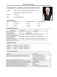 Resume Sample Untuk Kerja Kerajaan by Download Format Resume Kerajaan Bestsellerbookdb Contoh Resume