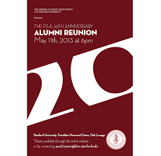 Invitation Cards For Alumni Meet Psa Events 2012 2013
