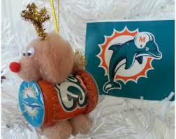 miami dolphins ornament etsy