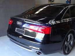 audi a6 spoiler audi a6 c7 sports style boot spoiler 12 14