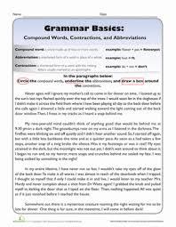 grammar basics compound words contractions u0026 abbreviations