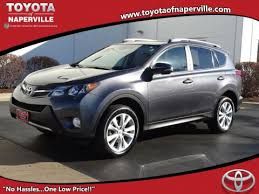 toyota suv price certified pre owned toyotas toyota of naperville