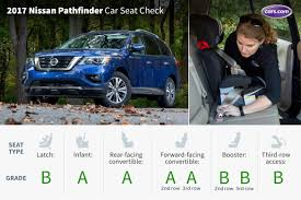 nissan pathfinder leather seats 2017 nissan pathfinder car seat check news cars com
