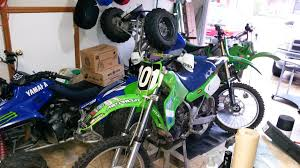 motocross racing numbers 07 kx250f plastics on 87 kx250 moto related motocross
