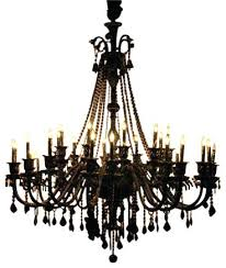 Chandelier With Black Shade And Crystal Drops 6 Chandeliers From Greatchandelierscom Chandelier Black Shade