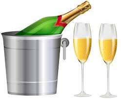 champagne transparent champagne bottle and glasses transparent clip art image gallery