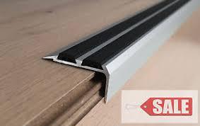 promotion aluminium stair nosing edge trim step nose edging