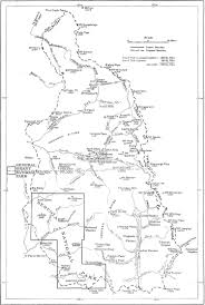 Sequoia National Park Map Nps Centennial Featured Article