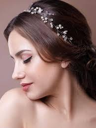 wedding headband unicra wedding headband hair vine and hair