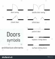 architecture floor plan symbols architectural floor plan door symbols glass wall lights photo