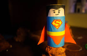 diy superman crafts for kids using recycled toilet paper rolls