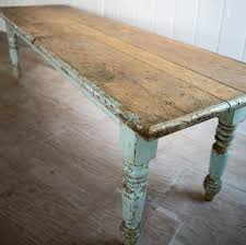 Shabby Chic Dining Tables For Sale by Big Farmhouse Dining Table Love The Tones Dinning Rooms