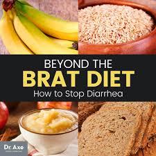 brat diet stop diarrhea tracks brat dr axe