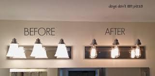 8 Bulb Bathroom Light Fixture 8 Bulb Vanity Light Fixture Contemporary How To Update Bathroom