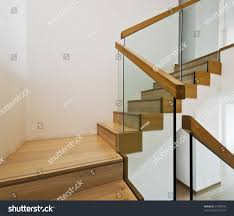 home depot stair railings interior modern staircase kits stock photo contemporary stair case with