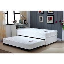 Single Bed Frame With Trundle Single White Bed Frame With Trundle 2 Mattresses Buy